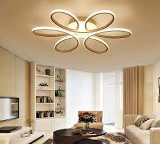 This image gives an example of LED Ceiling Lighting.