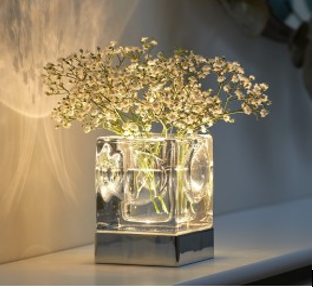 This image gives an example of a beautiful Vase Home Lighting.