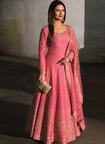 Floor-length Designer Anarkali suits